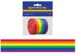 Rainbow Pride Party Ribbon 50 Ft.