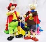 Wooden Marionette Puppet - On Clearance