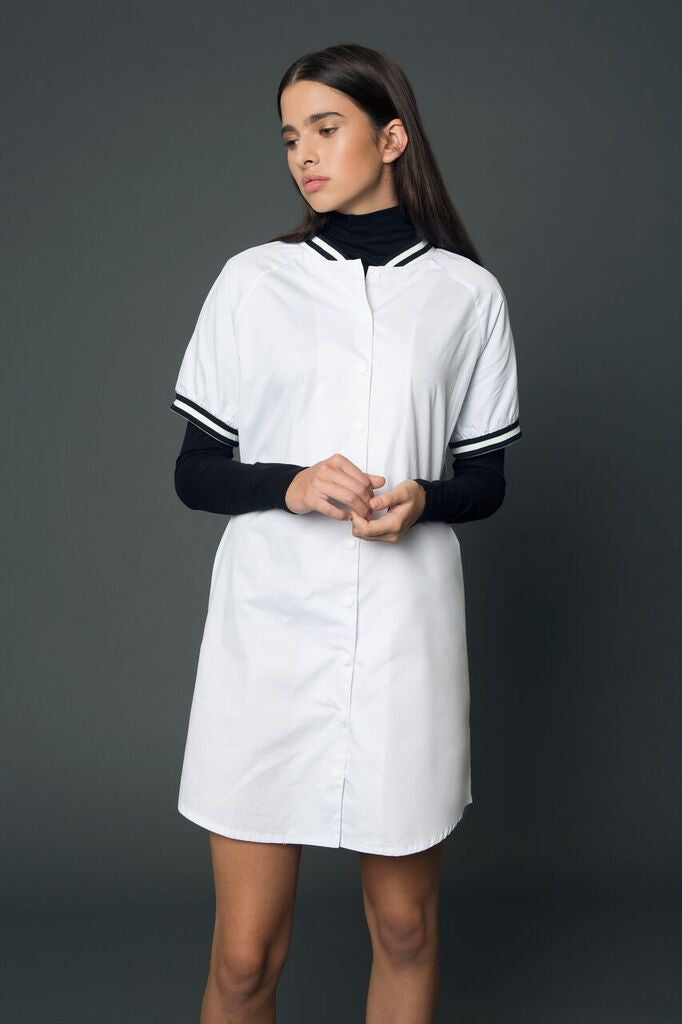 khalo baseball tee dress