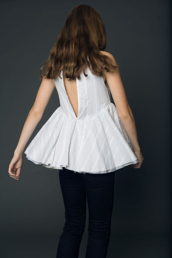 celeste tesoriero layered top