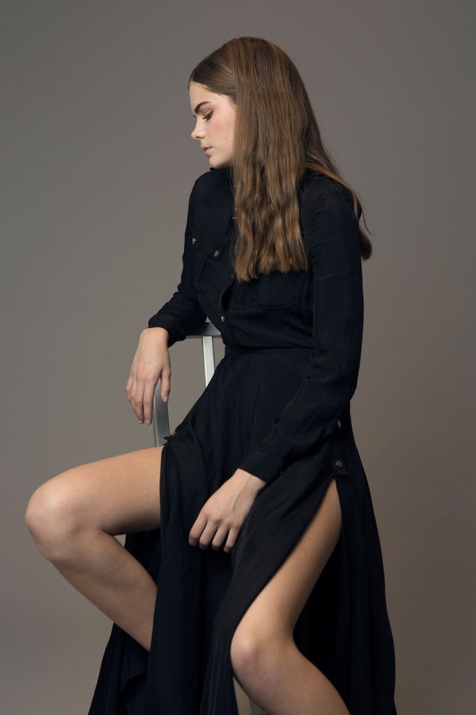 asilio shirt dress