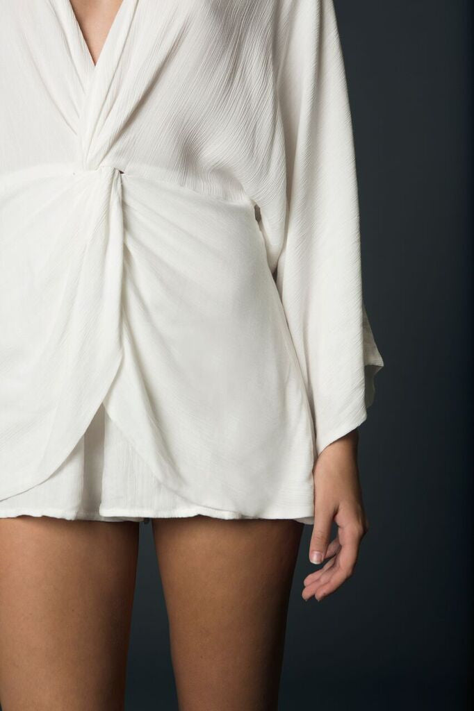 winona knotted playsuit