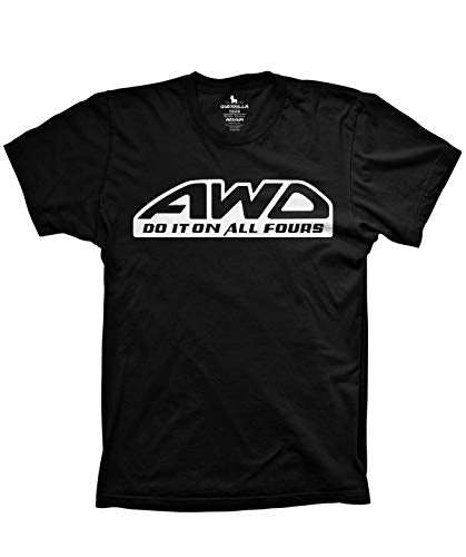 AWD Shirt Funny All Wheel Drive Tshirts do it on All Fours
