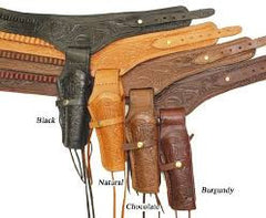 Tooled Leather Gun Holsters