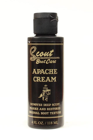 Scout Apache Boot Cream - Pete's Town Western Wear
