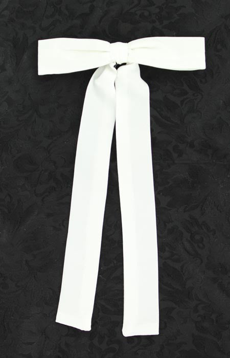 c00893bf35fc M&F Western Products, Inc. White Western Colonel Tie