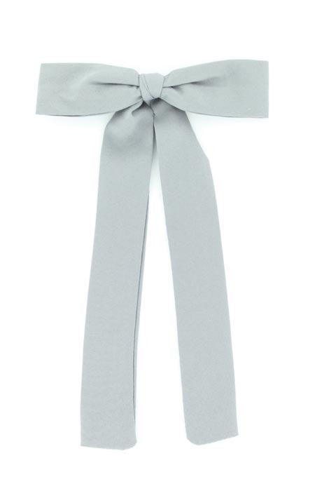Light Grey Western Colonel Tie - Pete's Town Western Wear