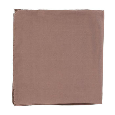 Brown 100% Silk Wild Rag - Pete's Town Western Wear