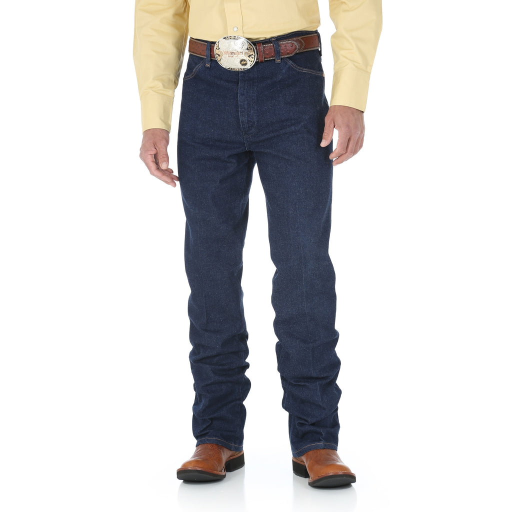 Men's Wrangler Slim Fit Cowboy Cut® Navy Stretch Jean - Pete's Town Western Wear