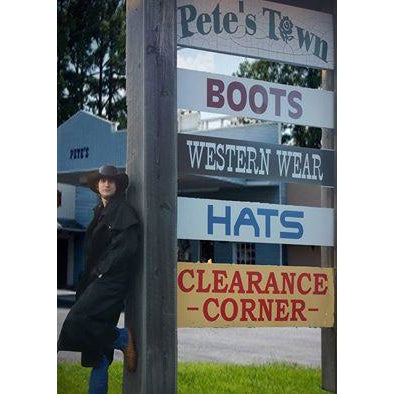 Authentic Australian Outback Men's Western Duster Coat - Pete's Town Western Wear