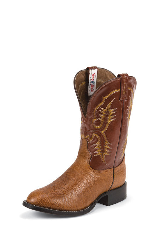 "Tony Lama Men's 11"" Aztec Shrunken Shoulder Western Cowboy Boots - Pete's Town Western Wear"