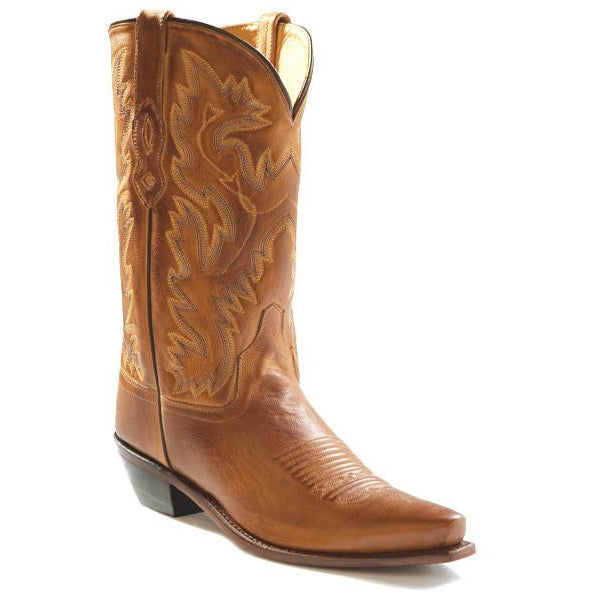 Jama Old West Men's Fashion Wear Cowboy Boots Tan Canyon - Pete's Town Western Wear