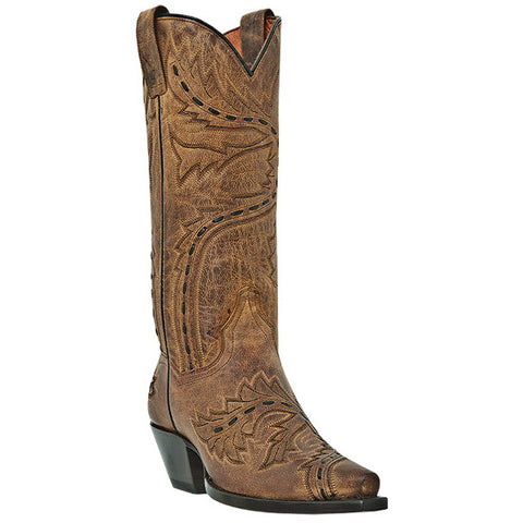 Dan Post Women's Snip Toe Cowgirl Dress Boot