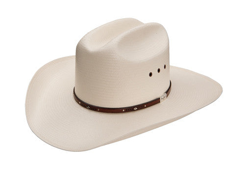 Resistol George Strait Collection 8X Palo Duro Straw Cowboy Hat - Pete's Town Western Wear