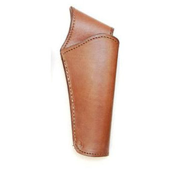 Hand Tooled Chocolate Smooth Leather Gun Belt Holster - Pete's Town Western Wear