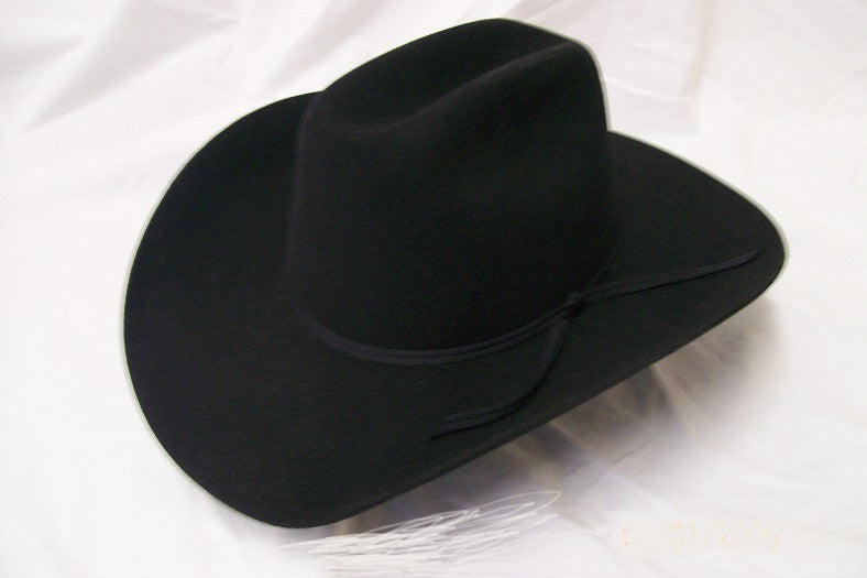 Resistol Kids Felt Collection Pecos Jr Cowboy Hat Black - Pete's Town Western Wear