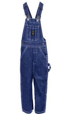 Toddler Premium Washed Bib Overalls Indigo Denim 224 - Pete's Town Western Wear