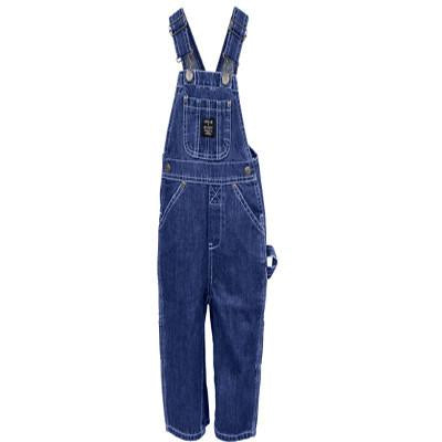 Infant Premium Washed Bib Overall's Indigo Denim 223 - Pete's Town Western Wear