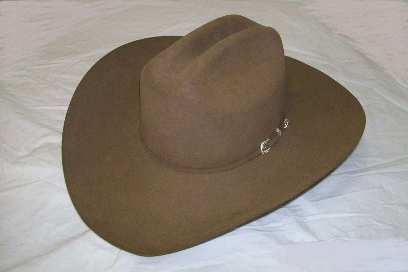 Stetson 5X Beaver Collection Classic Driftwood Lariat Western Cowboy Hat - Pete's Town Western Wear