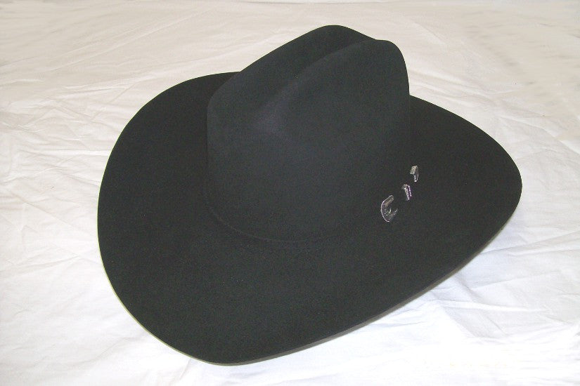 Stetson 6X Beaver Collection Classic Skyline Black Western Cowboy Hat - Pete's Town Western Wear