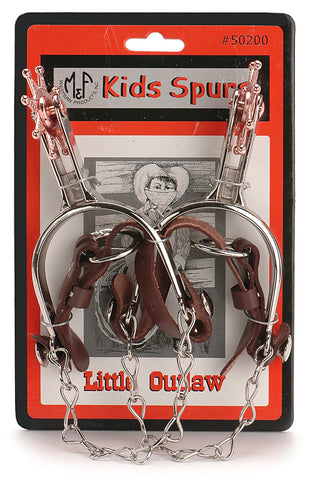 Little Outlaw Kids Western Spurs - Pete's Town Western Wear
