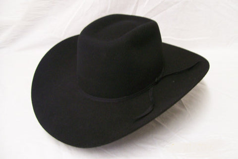Resistol Kids Felt Collection Cross Breed Jr Cowboy Hat Black - Pete's Town Western Wear