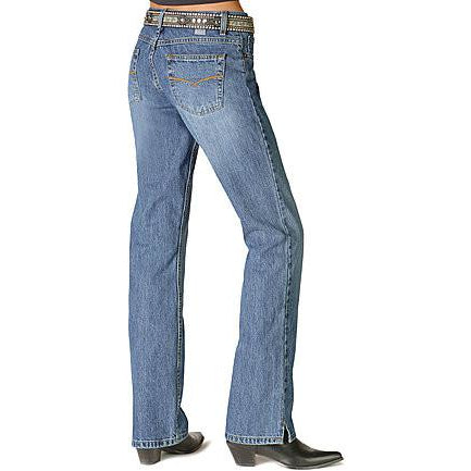 Cruel Girl Georgia Relaxed Fit Low Rise Jeans Medium Stonewash - Pete's Town Western Wear