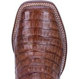 Dan Post Men's Cowboy Certified Bay Apache Alligator Skin Square Toe Western Dress Boots.