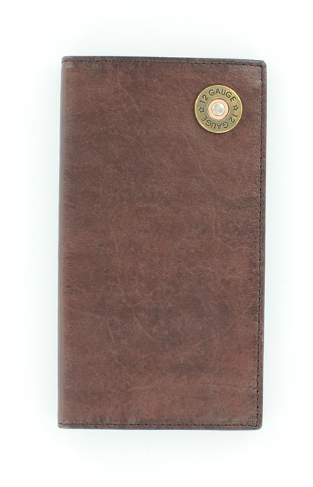 Nocona Mossy Oak with Shotgun Shell Rodeo Wallet