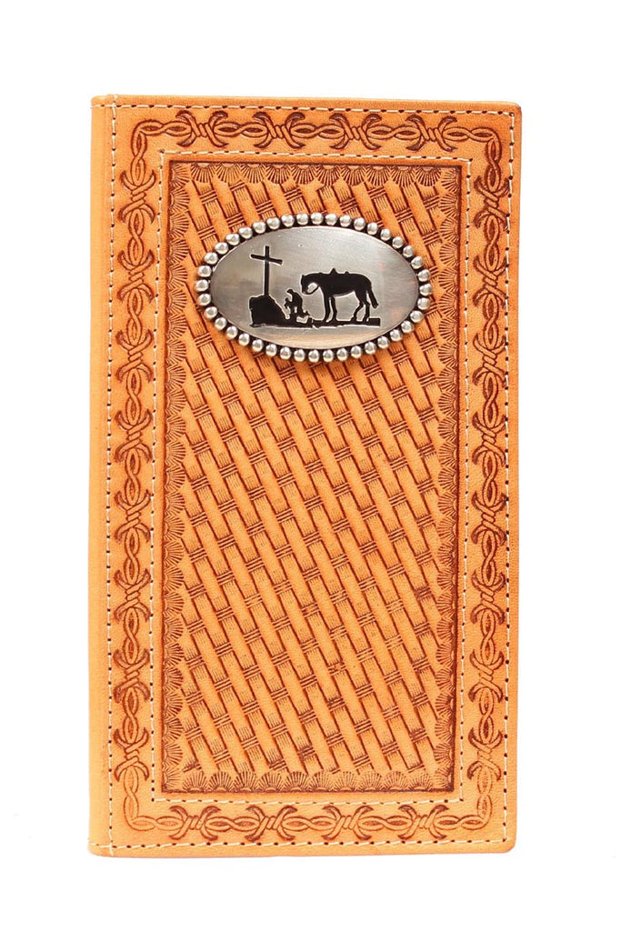 Nocona Praying Cowboy Rodeo Wallet - Pete's Town Western Wear