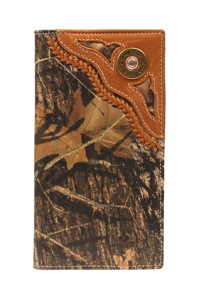 Nocona Mossy Oak with Shotgun Shell Rodeo Wallet - Pete's Town Western Wear