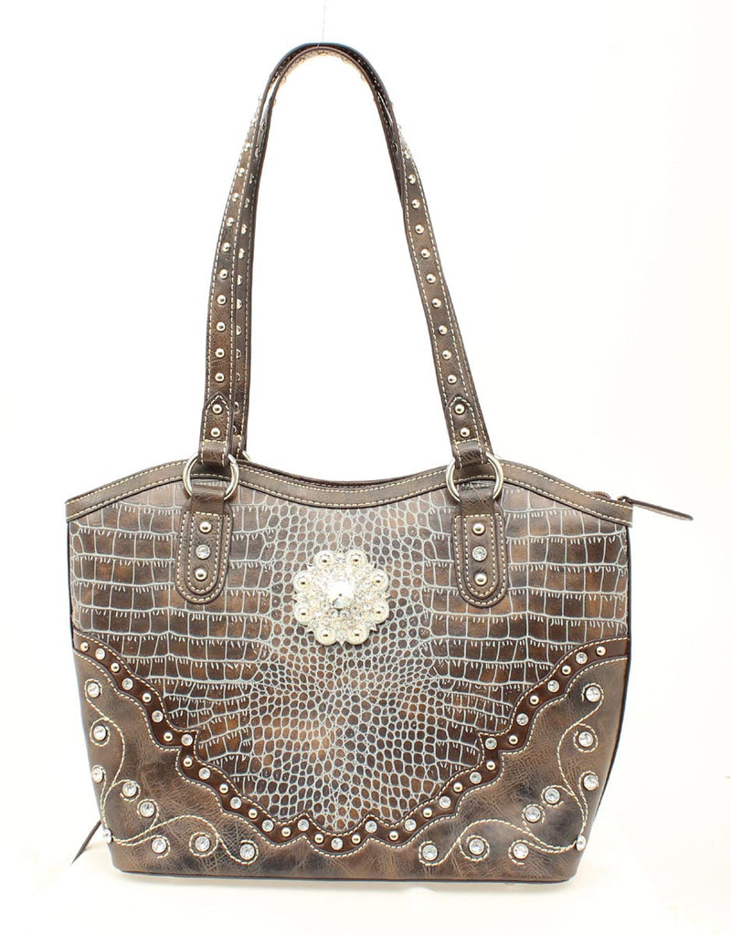 Ladies Nocona Bucket Concealed Weapon Purse - Pete's Town Western Wear
