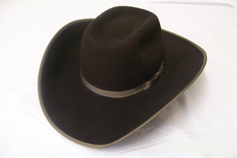 Resistol Kids Felt Collection Holt Jr Felt Cowboy Hat Brown - Pete's Town Western Wear