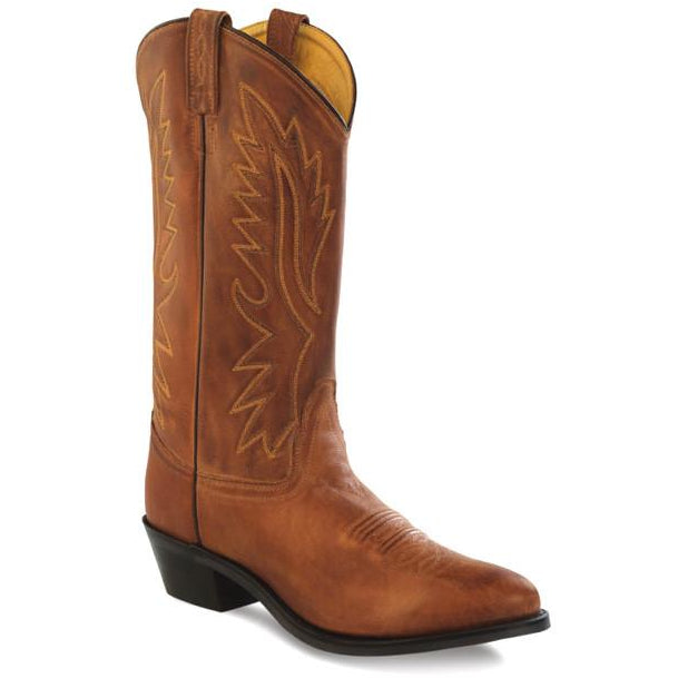 "Jama Old West Men's Polanil 13""  Western Cowboy Boots - Pete's Town Western Wear"
