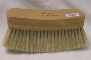 M&F 100% Light Horsehair Boot Brush - Pete's Town Western Wear