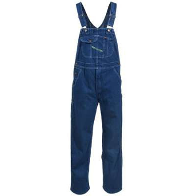 Men's Key Clothing Overalls Enzyme Wash Cotton Bib Overall's - Pete's Town Western Wear