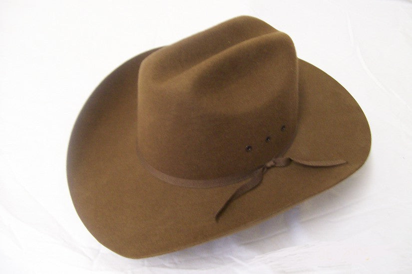 M&F Kids Felt Collection Brown Faux Felt Cowboy Hat - Pete's Town Western Wear