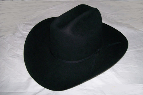 Resistol 4X Beaver Collection Black Dalton Western Cowboy Hat - Pete's Town Western Wear