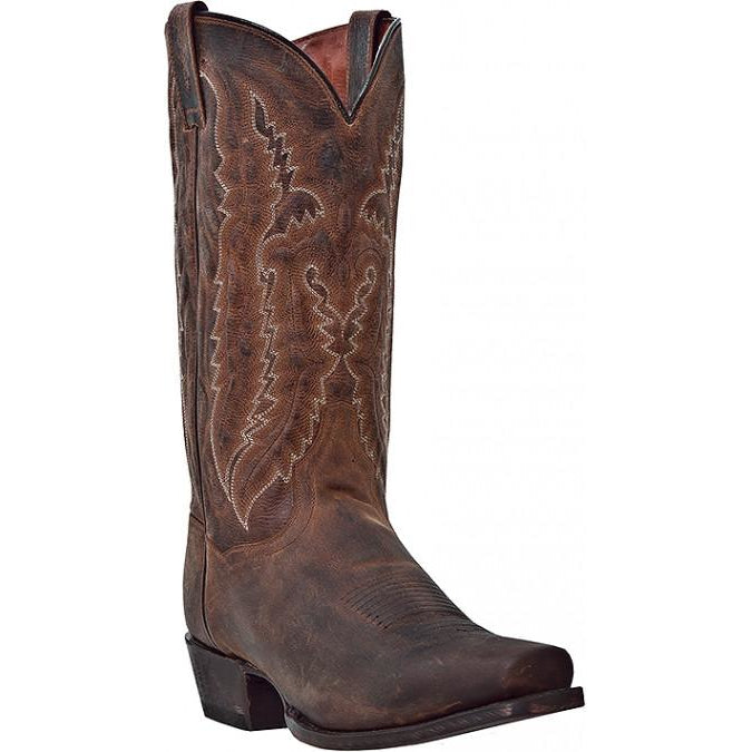 Dan Post Men's Bay Apache Distress Leather Western Cowboy Boot - Pete's Town Western Wear