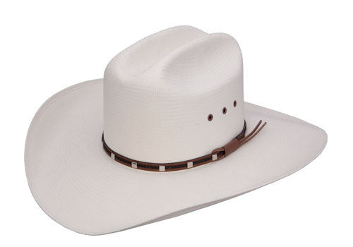 Resistol George Strait Collection Del Rio 8X Straw Cowboy Hat - Pete's Town Western Wear