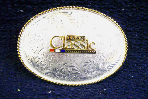 Montana SilverSmith Team Classic Oval Belt Buckle - Pete's Town Western Wear