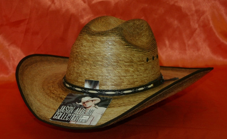 Jason Aldean Mens Resistol Amarillo Sky Cowboy Hat Natural