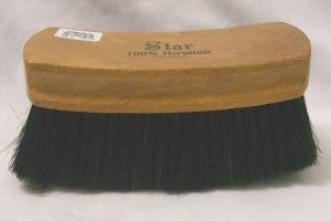 M&F Western Products 100% Dark Horsehair Brush 0401001 - Pete's Town Western Wear