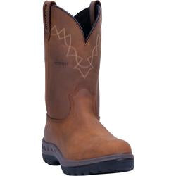 Dan Post Men's WCT Waterproof Tan Wellington Work Boots