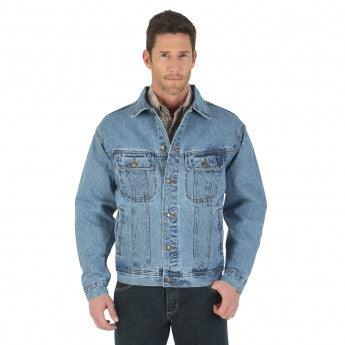 Wrangler Rugged Wear® Denim Jacket - Pete's Town Western Wear