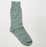40 Colori Mens Socks Melange Linen Socks Teal