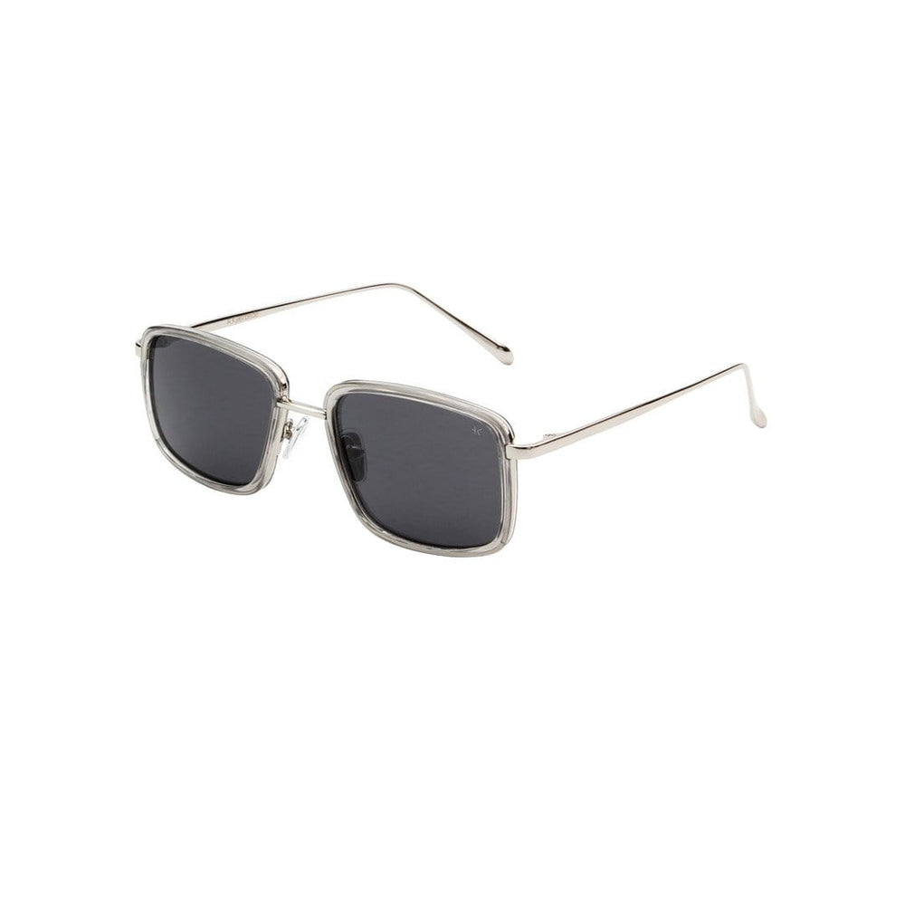 Aldo Sunglasses in Grey Transparent