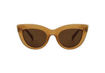 Stella Sunglasses in Light Brown