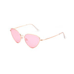 Wivi Sunglasses in Gold/Pink