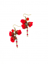 Ana Popov Accessories Rouge Catarina Earrings